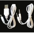 Musicman MA-Display-Docking 1x Line Kabel, 1 x Aufladekabel USB
